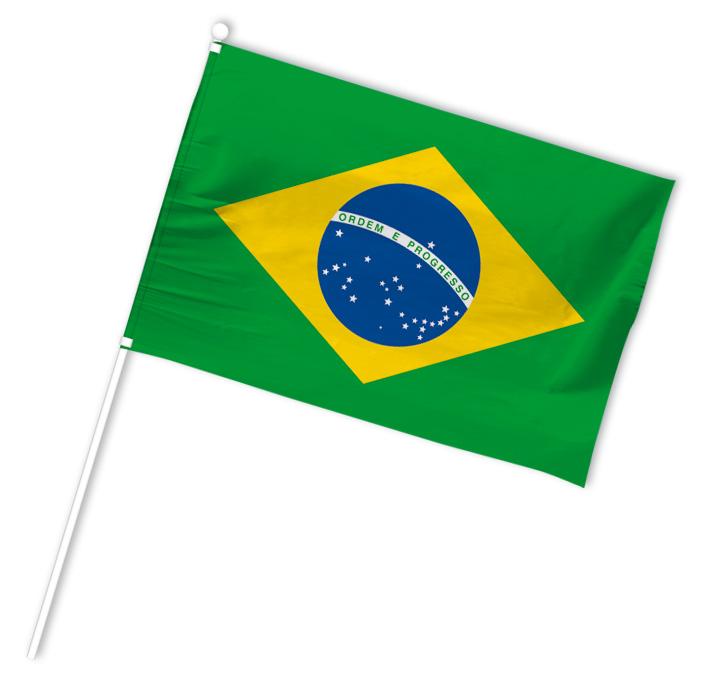 drapeau supporter bresil