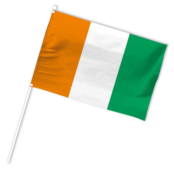 drapeau supporter cote d'ivoire
