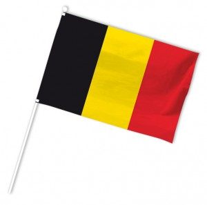 drapeau supporter euro 2016 belgique
