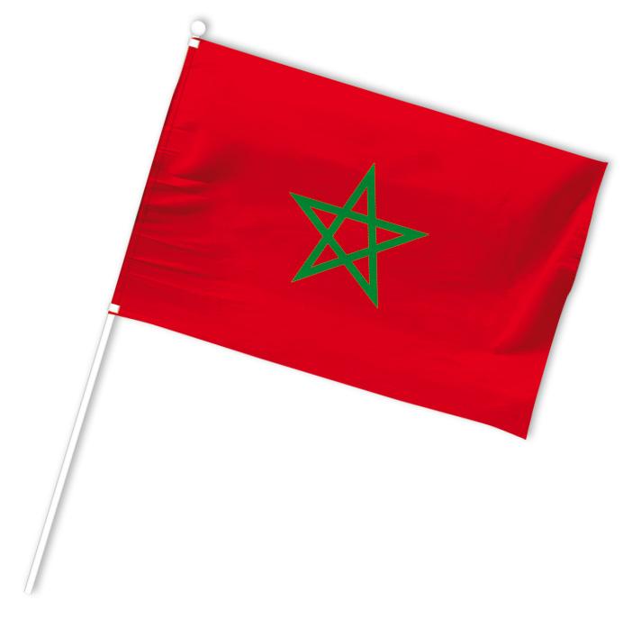 drapeau supporter maroc