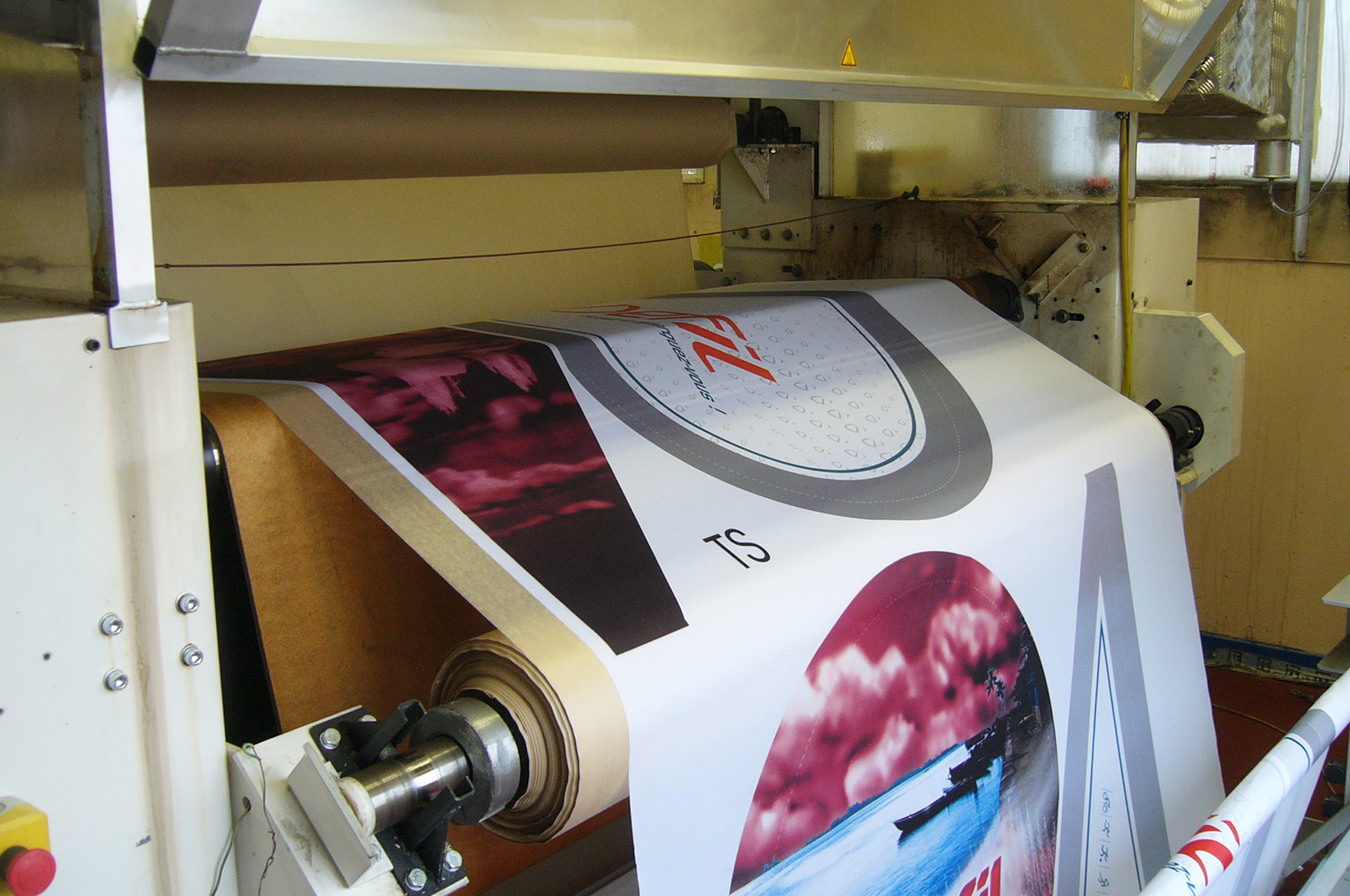 fabricant textile calandre