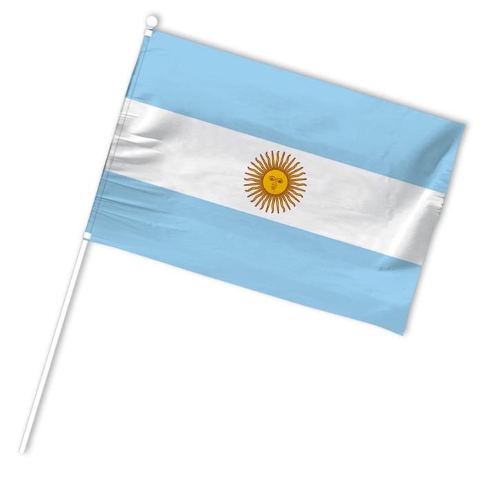 drapeau supporter argentine