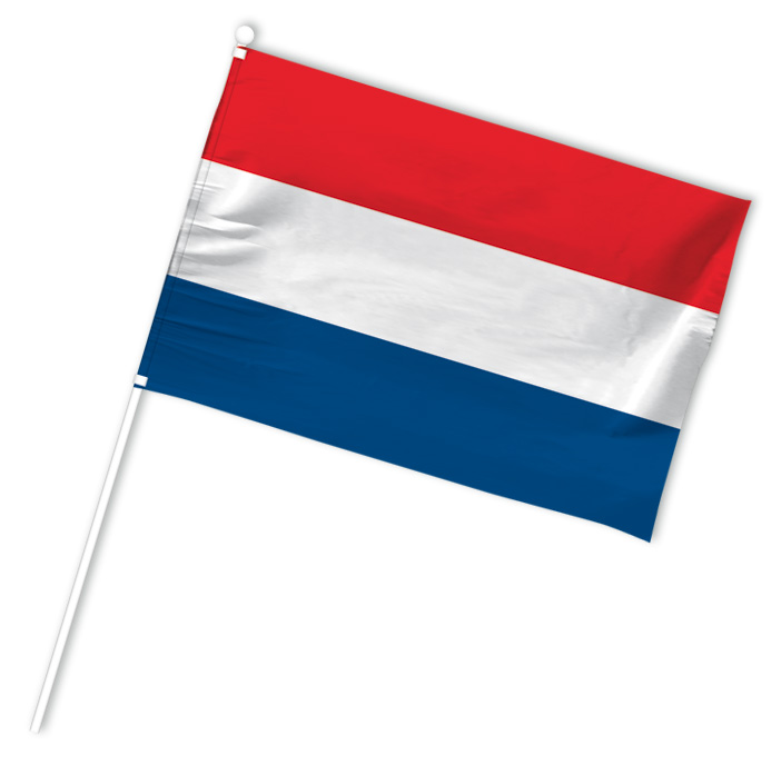 drapeau supporter pays bas