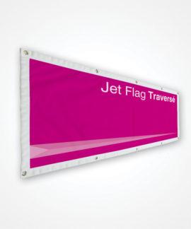 Banderole publicitaire Traversée