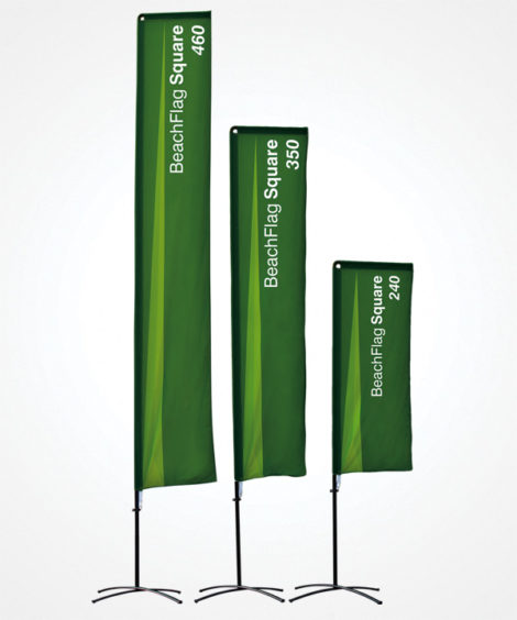 beach flag squar